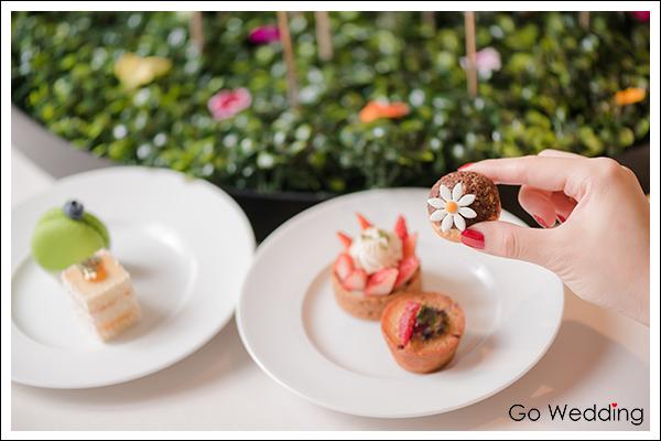 婚宴甜點全台特搜/【台南晶英酒店】法頌杜樂麗花園的華麗美好