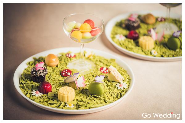 婚宴甜點全台特搜/【台北萬豪酒店】獨創台灣味的國宴甜點
