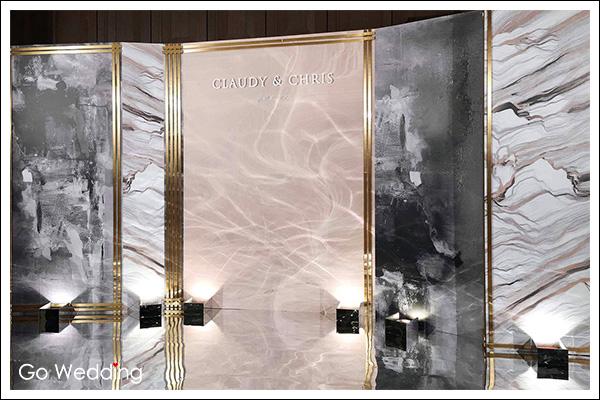 婚禮佈置, 主題婚禮背板佈置, 立體客製婚禮設計, tiger wedding