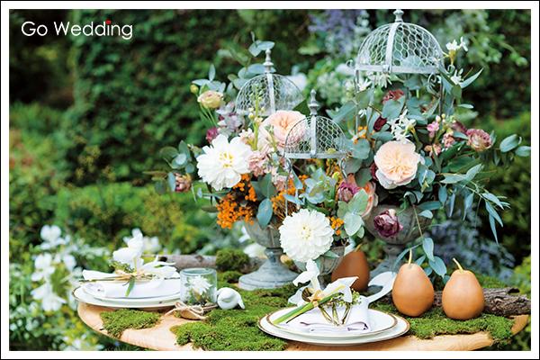 主題婚禮, 婚禮佈置, 婚禮小物, 森林, 精靈, 叢林