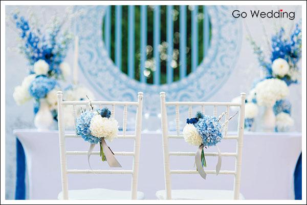 主題婚禮, 婚禮佈置, 中國風, 青花瓷, 復古, 婚禮小物