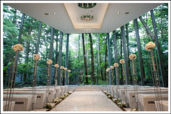日本, 教堂, 海外, 婚禮, 輕井澤