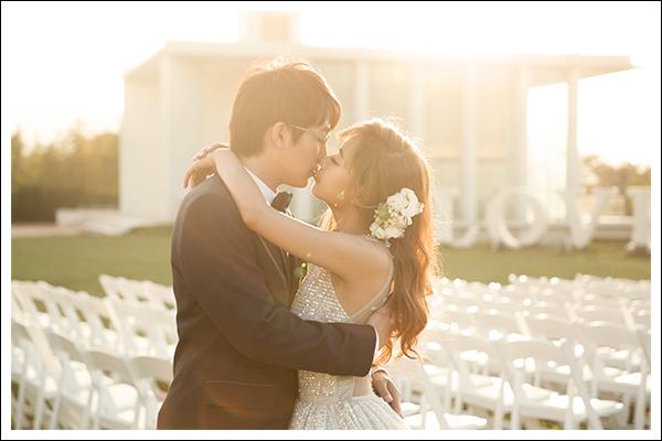 戶外婚禮, 婚禮, 佈置